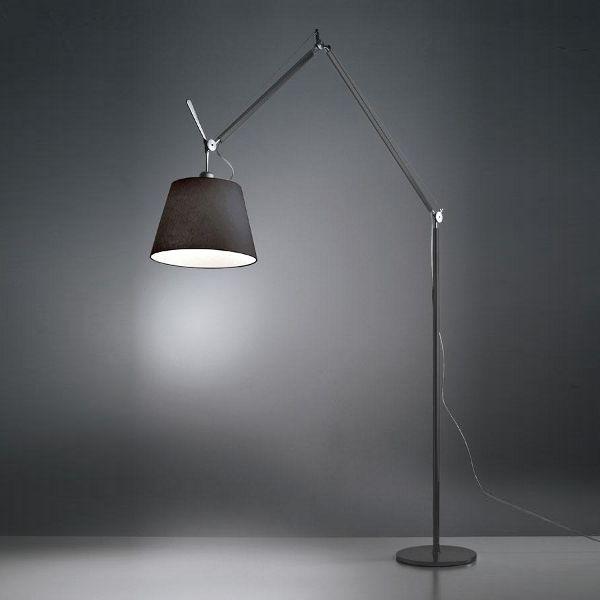 Tolomeo Mega LED terra floor light black