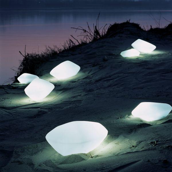 Stones outdoor floor light