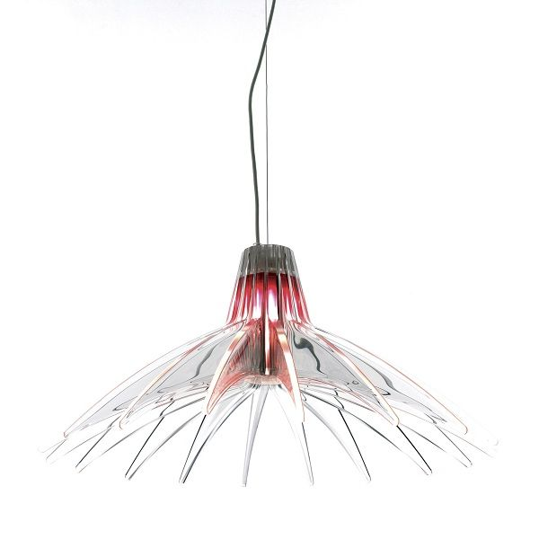 Agave D49/70 Pendant light with red color filter