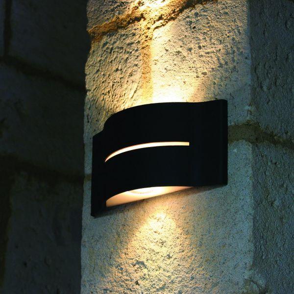 Surf wall light black