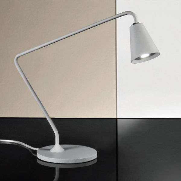 Conus Small Table lamp With Grey Finish