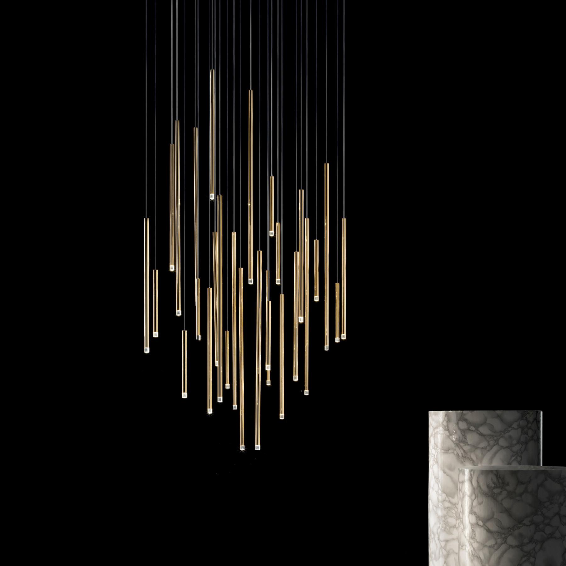 Studio Italia Design A Tube Pendant Light Lightingdeluxe Com