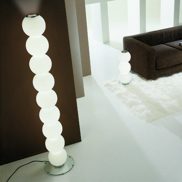 Accommodation example of the Perlage R9 floor light