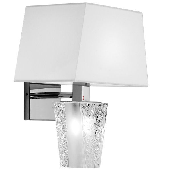 Vicky D03 Wall sconce, white
