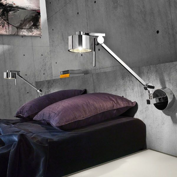 Wall Sconce AX20 AP GR in the bedroom