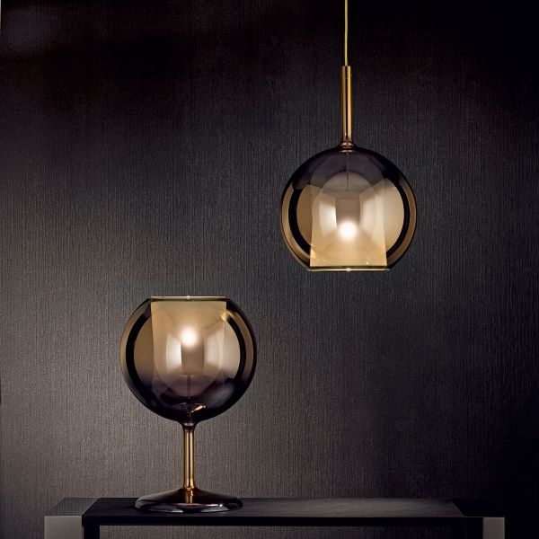 Glo pendant and table light in 4ever