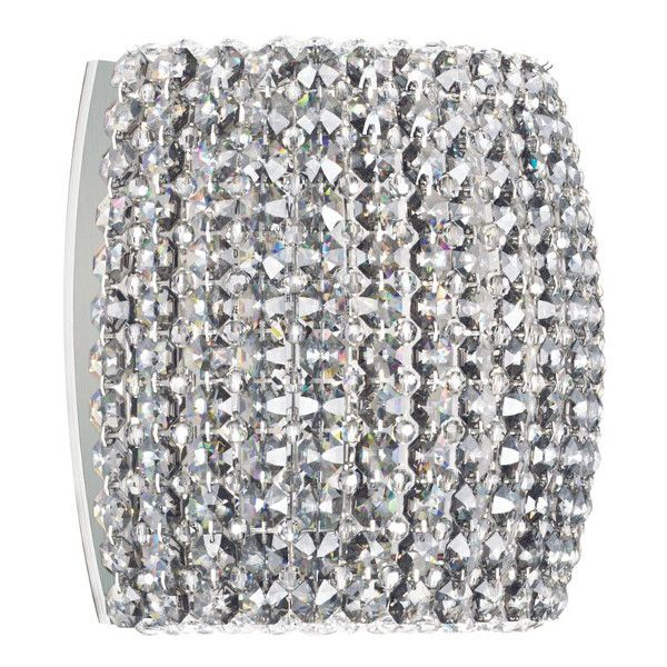 Dionyx DIW0807 wall light with swarovski crystals