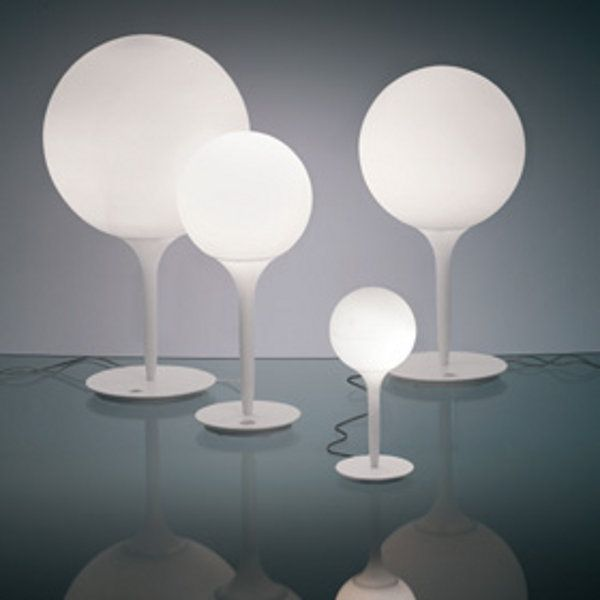 The Castore tavolo table light in four different sizes