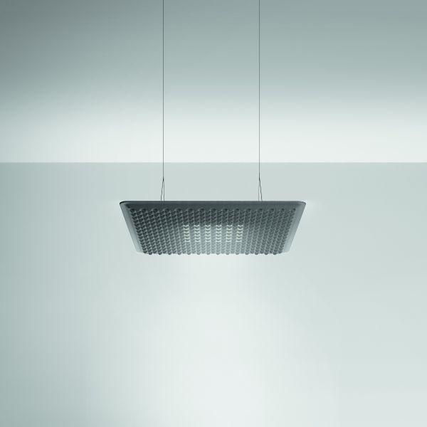 Eggboard Matrix 80 pendant light direct, grey