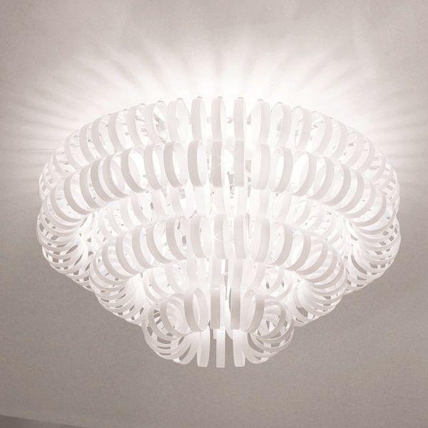 Ecos PL 90 Ceiling fixture, shiny white