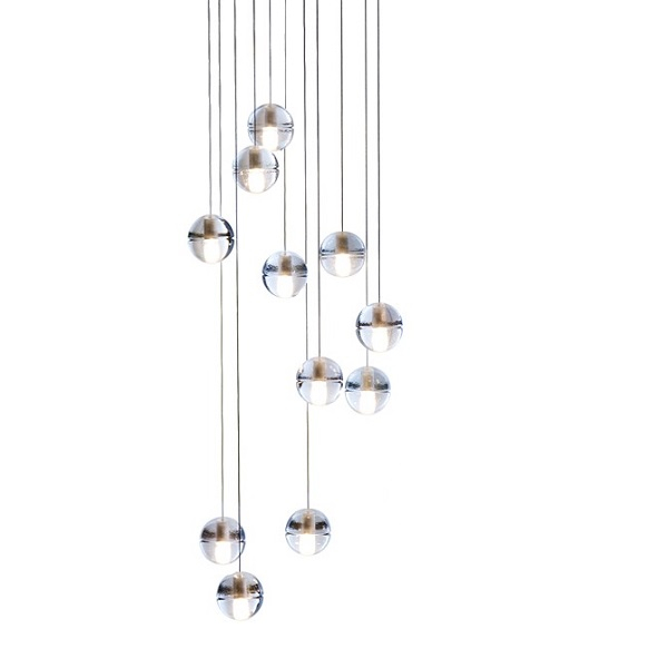 14.11 square pendant light