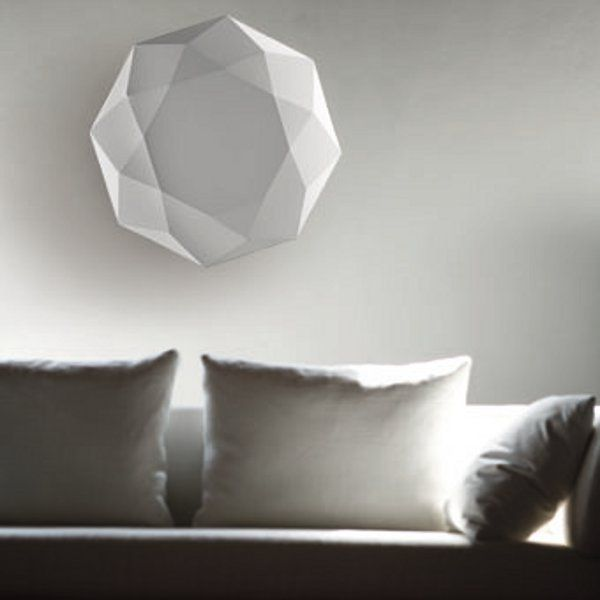 Diamond PP 60/80/120 Ceilin/Wall light, white