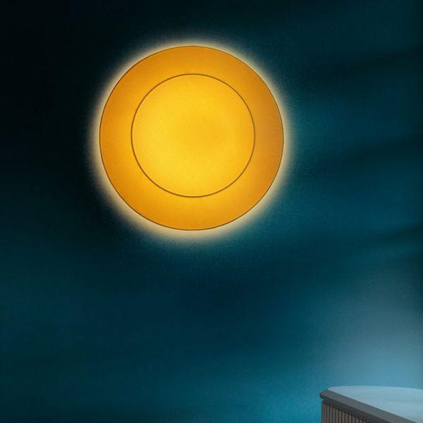 Ring Tonda wall/ ceiling light yellow