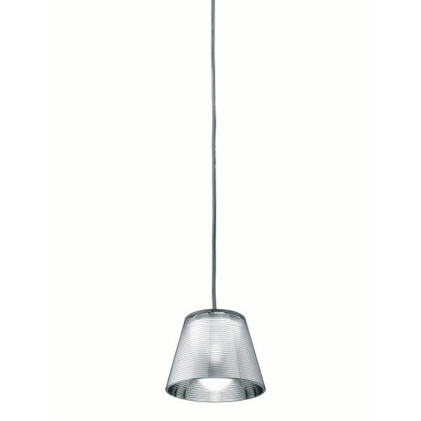 Romeo Babe K S suspension lamp in silver
