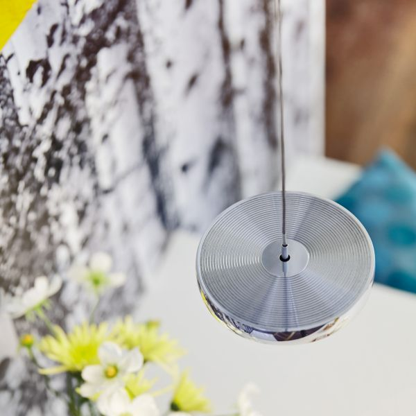 Decent Uno Suspension Lamp, Alu brushed