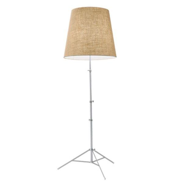 Gilda floor lamp jute nature