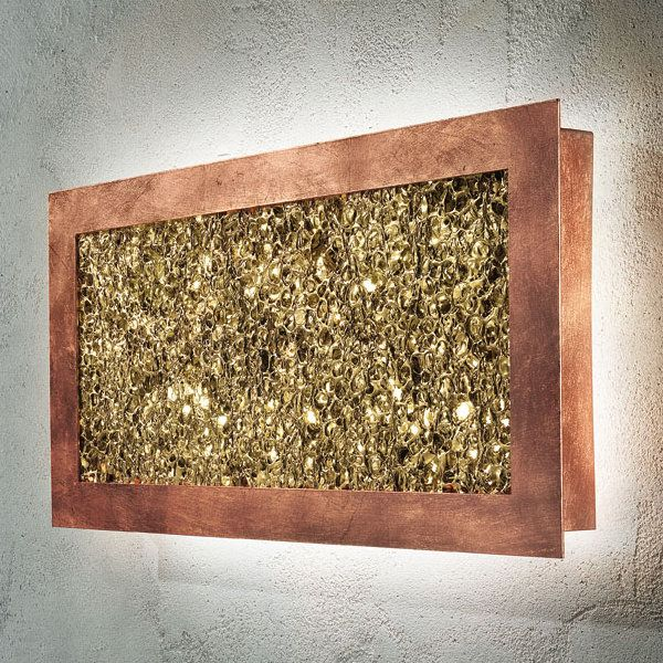 Groove PP R 55 Ceiling/Wall light, copper