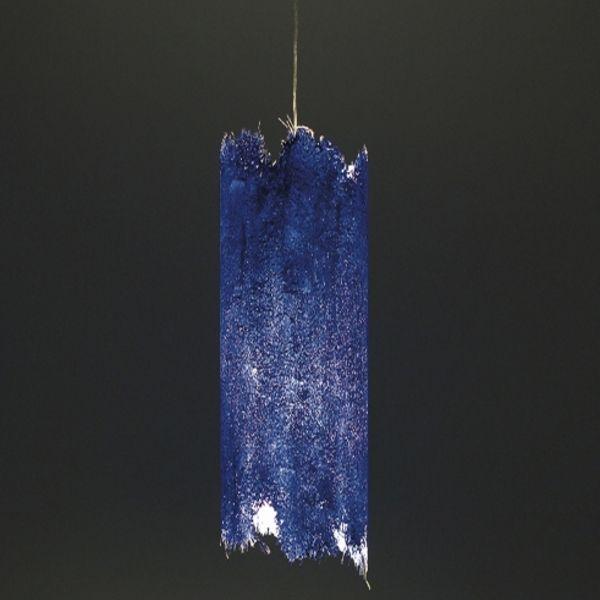 Suspension lamp PostKrisi 0044 in blue