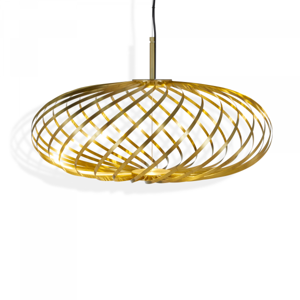 Spring small Pendant lamp, brass