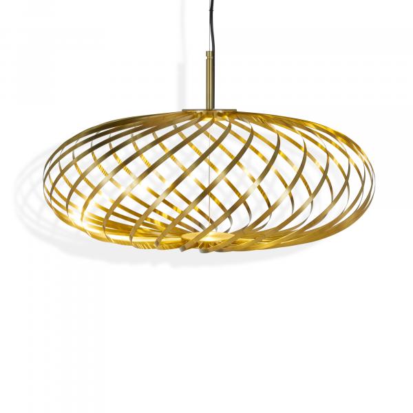 Spring small Pendant lamp, brass