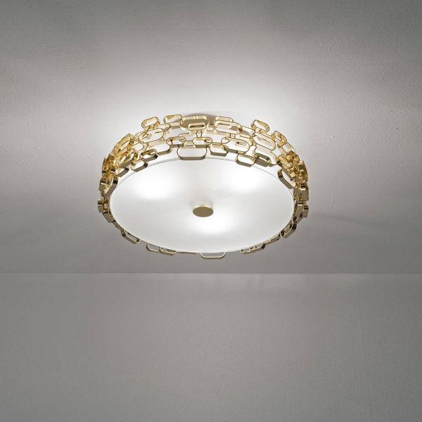 Glamour ceiling light gold