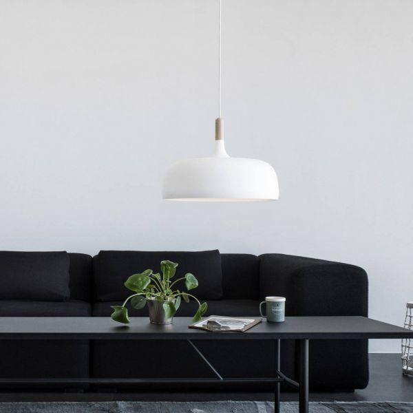 Acorn Pendant Light White