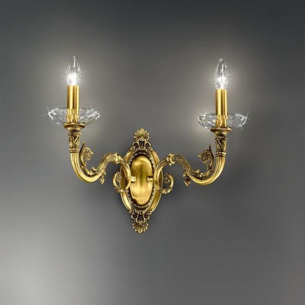 Kolarz Contarini Wall Light, french gold