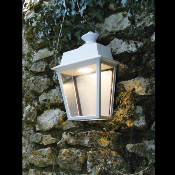 Place des Vosges 1 outdoor wall light white