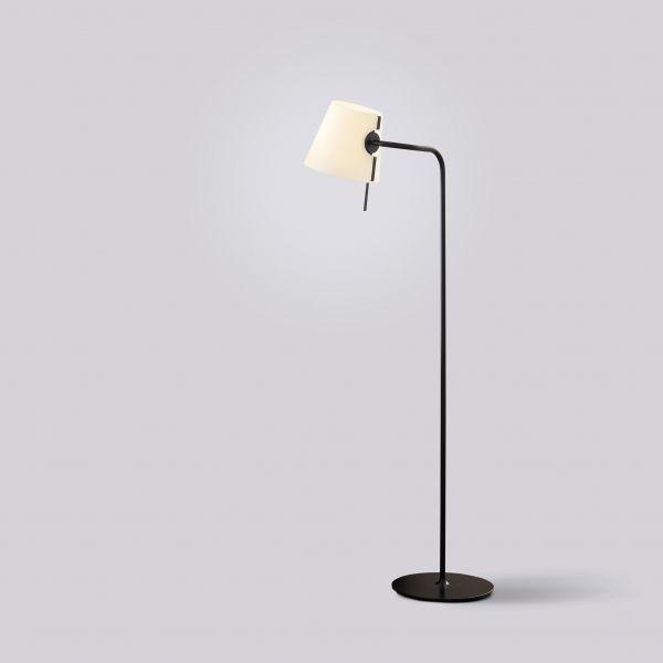 Elane Floor lamp, black lacquered