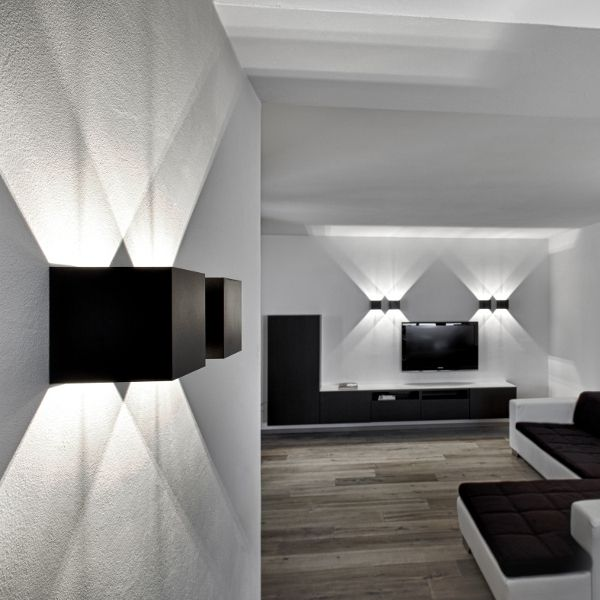 Dice Wall 120 LED Wall sconce