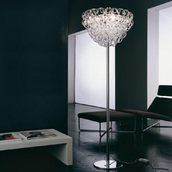 Giogali PT Floor light, crystal clear