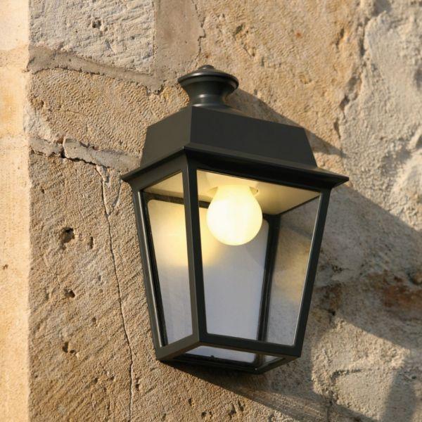 Place des Vosges 1 outdoor wall light black