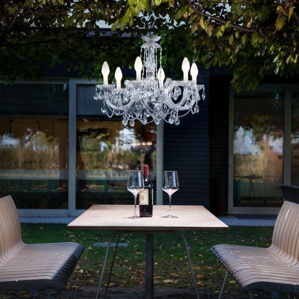 Drylight S6 Outdoor Chandelier
