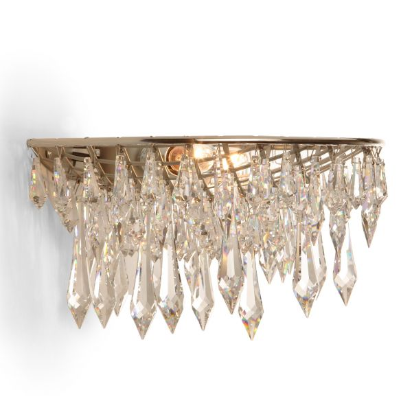 Crystal Rain Wall sconce