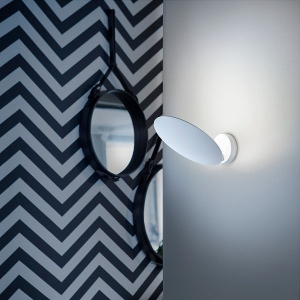 Puzzle Single Round Wall Sconce