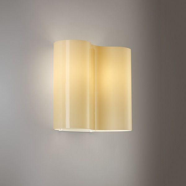 Double 07 Wall sconce, ivory