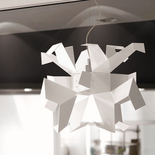 Glow Sospensione 1 pendant light white
