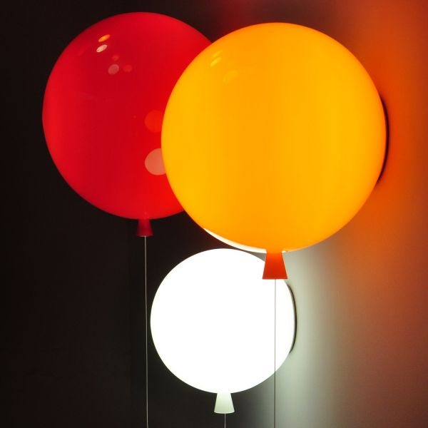 Memory 25 Wall Sconce - Red / Orange / White