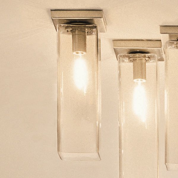 Tubes PL 120/90/60/40/20 Ceiling fixture, smoked-grey