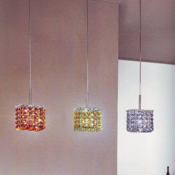 Aurea 10 S1 suspension lamp in different colors
