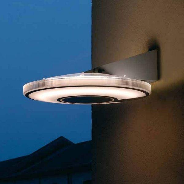Lightdisc D41/40.04 Wall sconce as outdoor light