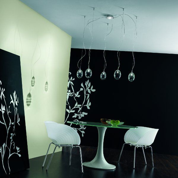 Accommodation example of the Pro Secco S5D pendant light