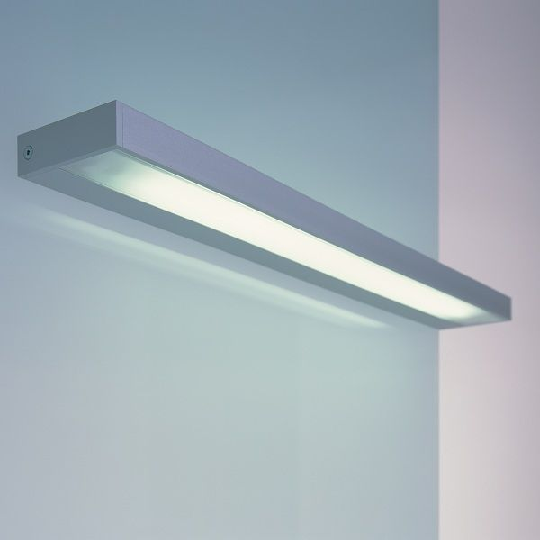 SML T5 Wall sconce, silver anodized