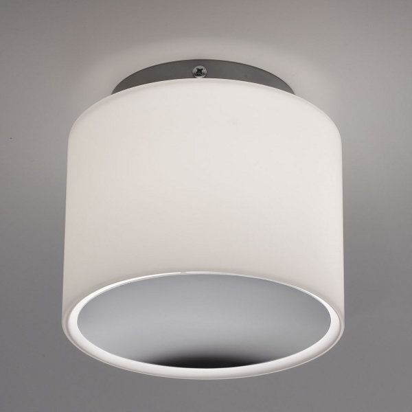 Round PP Ceiling/Wall light, white