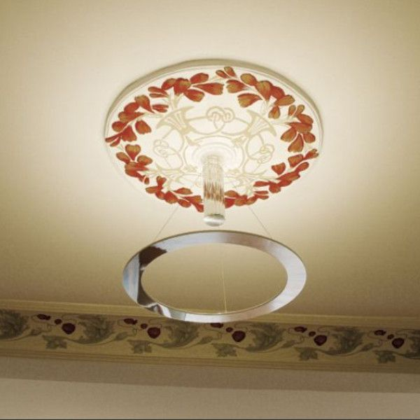Piani rondo - model uplight - with stucco canopy