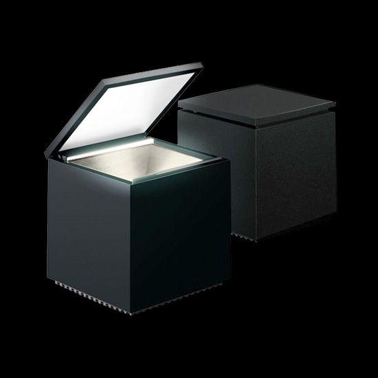 Cuboled Table lamp black