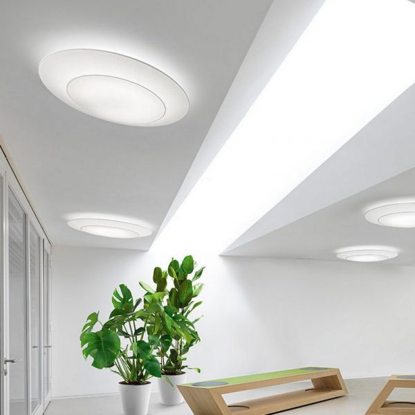 Ring Tonda wall/ceiling white