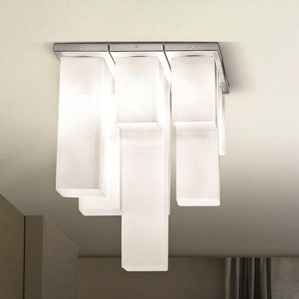 Tubes PL 9 Ceiling fixture, white