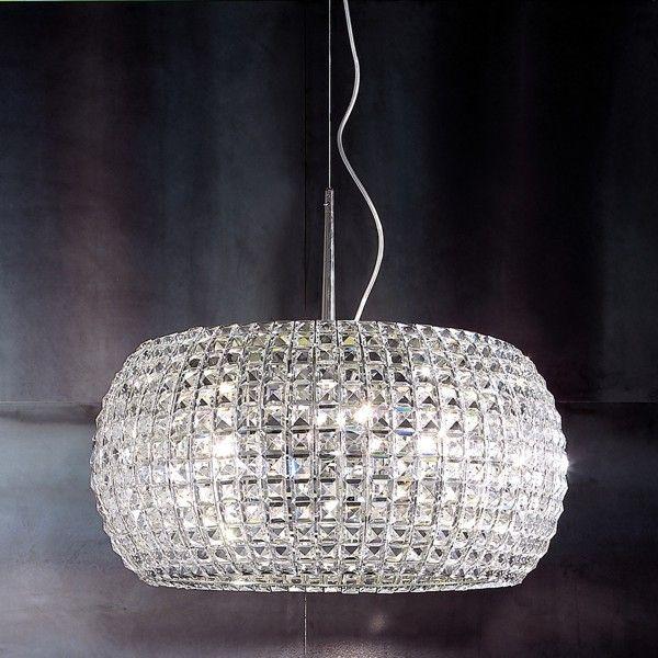 Pulsar 65 pendant light nickel