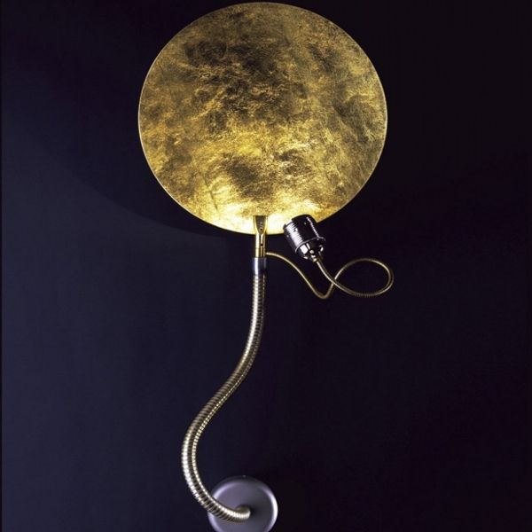 Luce d'Oro Parete wall sconce in gold